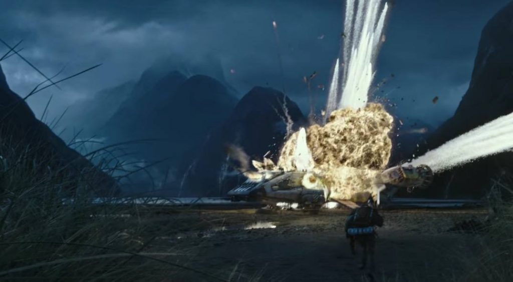 The crew of the Covenant gets stranded in an explosion