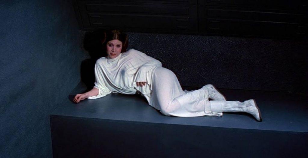 Princess Leia in Star Wars: A New Hope