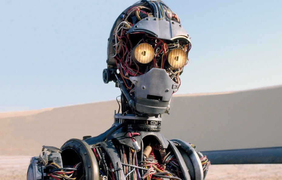 C-3PO in Star Wars Episode I: The Phantom Menace