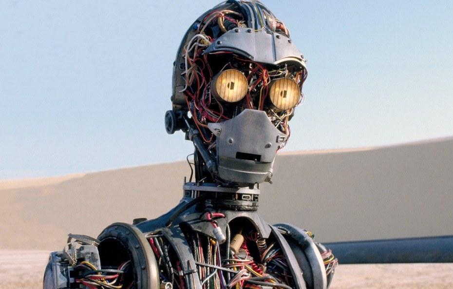 C-3PO in Star Wars Episode I: The Phantom Menace