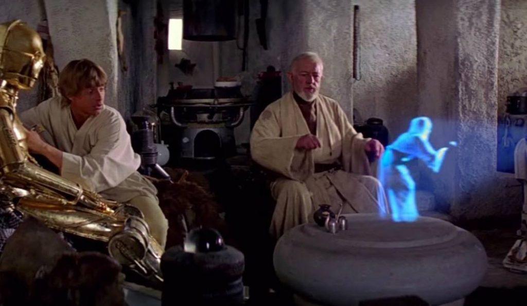 Obi Wan in Star Wars: A New Hope