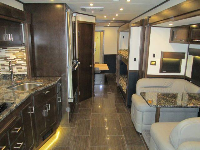 A ShowHauler interior can be outfitted with anything the buyer desires, it just depends upon how deep your pocketbook goes | ShowHauler