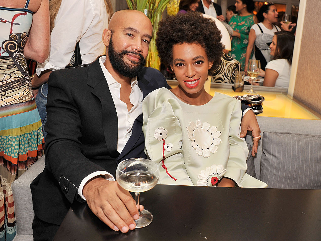 Music video director Alan Ferguson and singer Solange Knowles