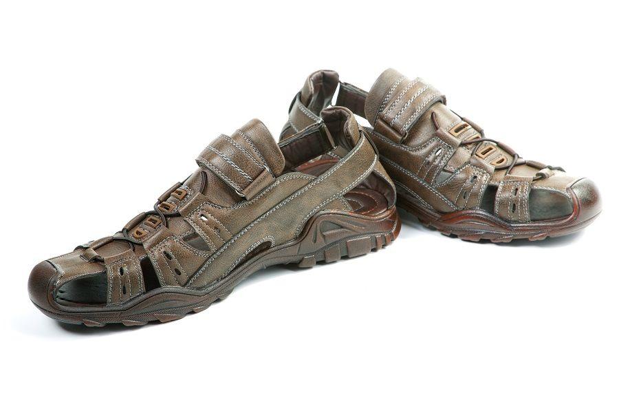 Summer man's sandals