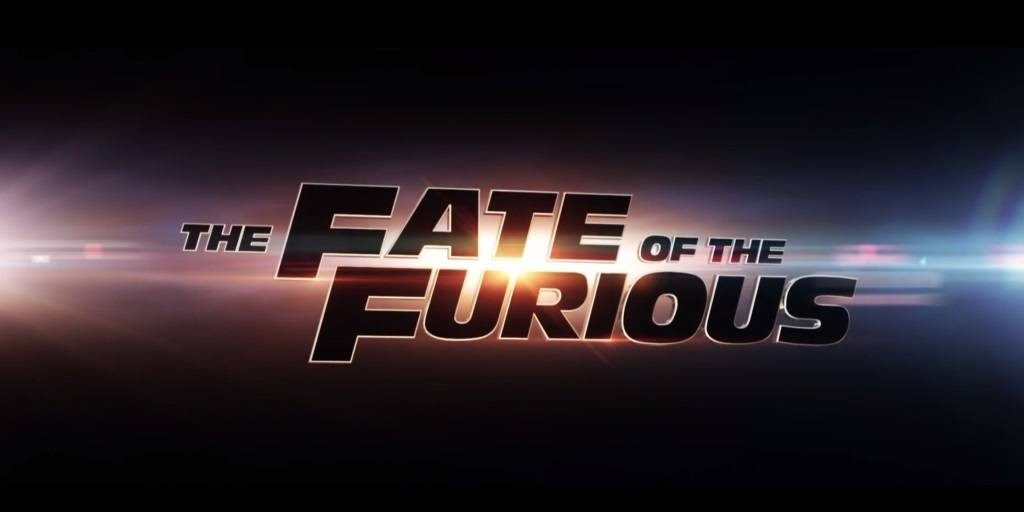 The Fate of the Furious movie title card