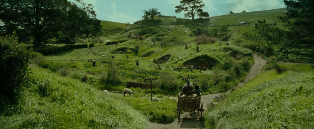 The Shire in 'Lord of the Rings'