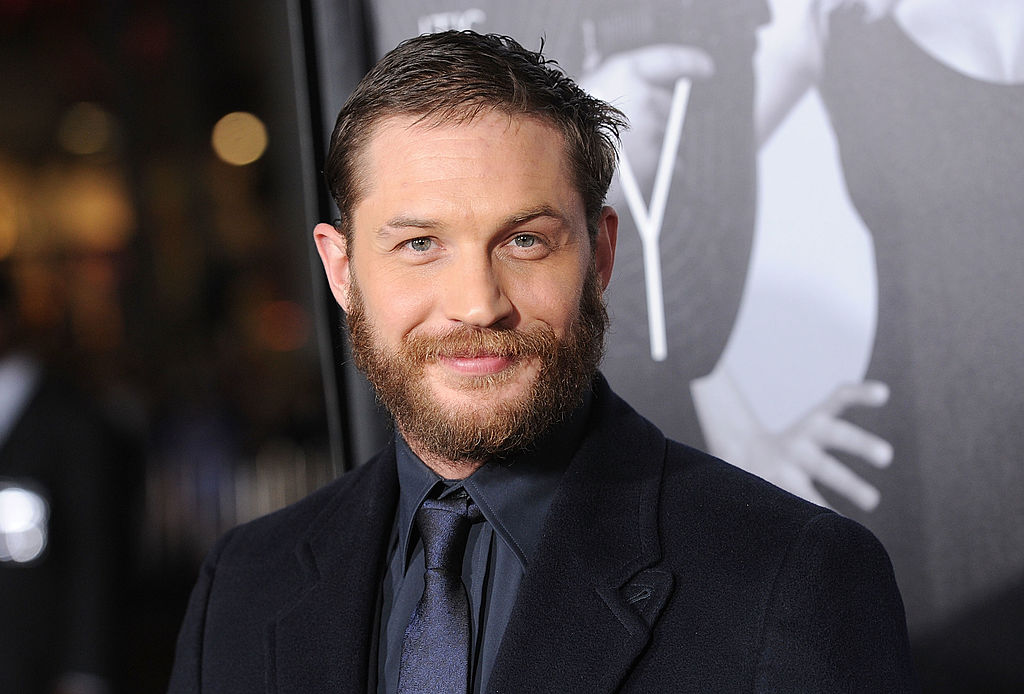 Actor Tom Hardy attends the 'This Means War' Los Angeles premiere