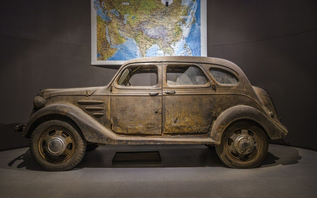 1936 Toyota AA, the oldest Toyota in the world