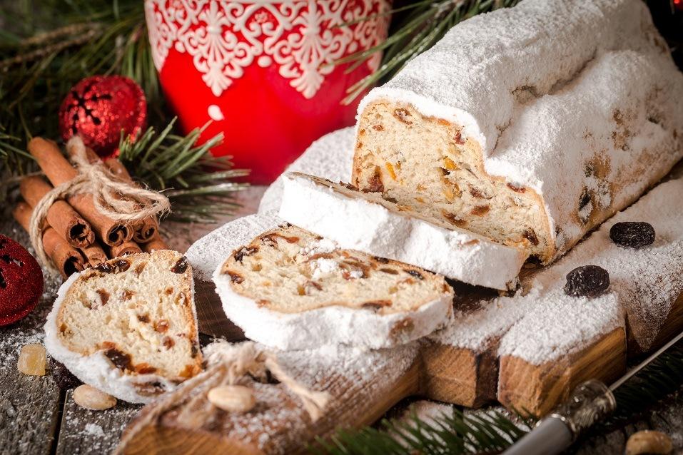 Traditional German Christmas cake