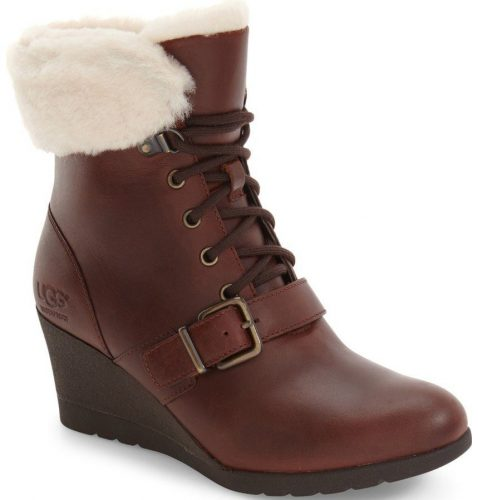 UGG Janney Waterproof Thinsulate Wedge Bootie