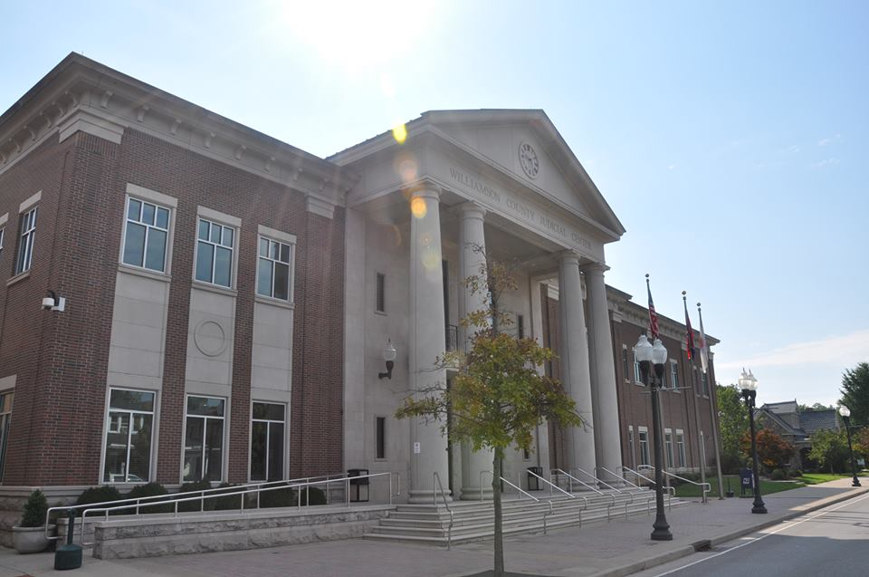 The Williamson County, Tennessee courthouse
