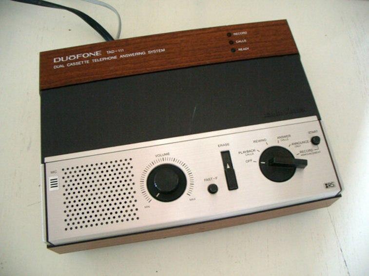 1980s answering machine