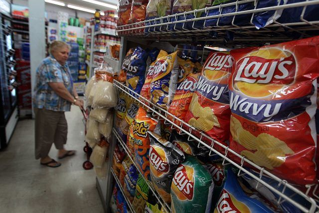bags of chips