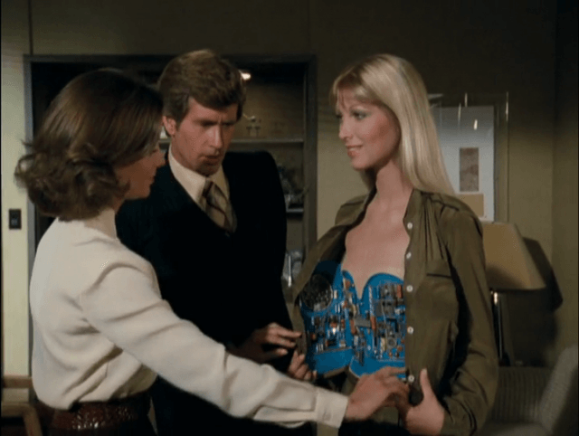 A scene from CBS's short-lived TV series, 'Beyond Westworld'