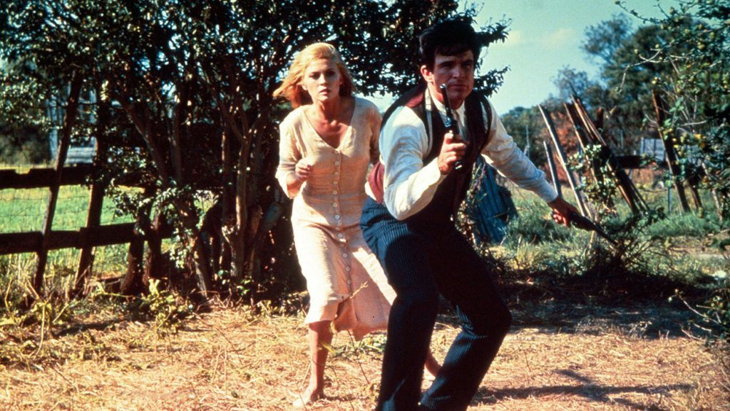 Bonnie and Clyde (1967) Directed by Arthur Penn Shown from left: Faye Dunaway (as Bonnie Parker), Warren Beatty (as Clyde Barrow)