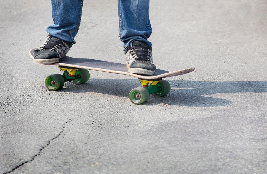 boy on the board