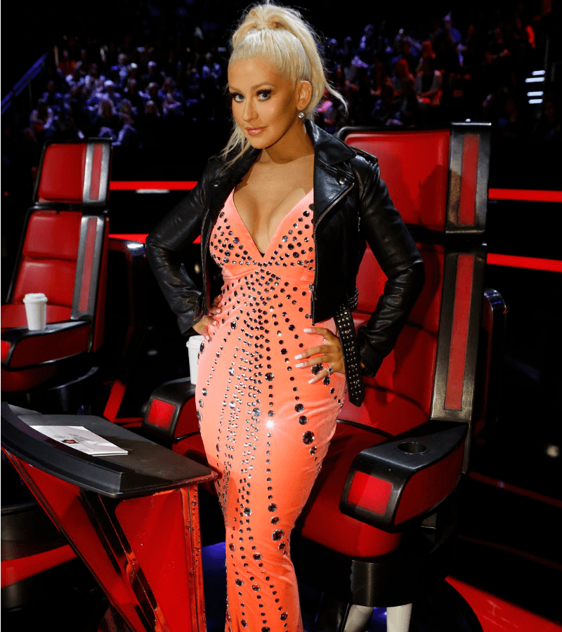 'The Voice': Christina Aguilera's Outfits Ranked, From