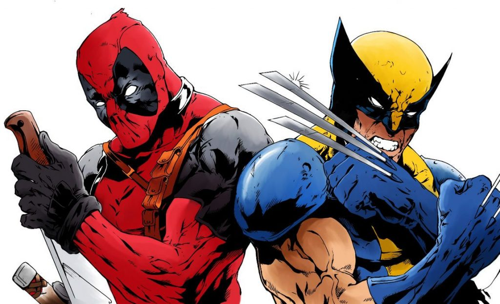 Deadpool and Wolverine - art for Marvel Comics