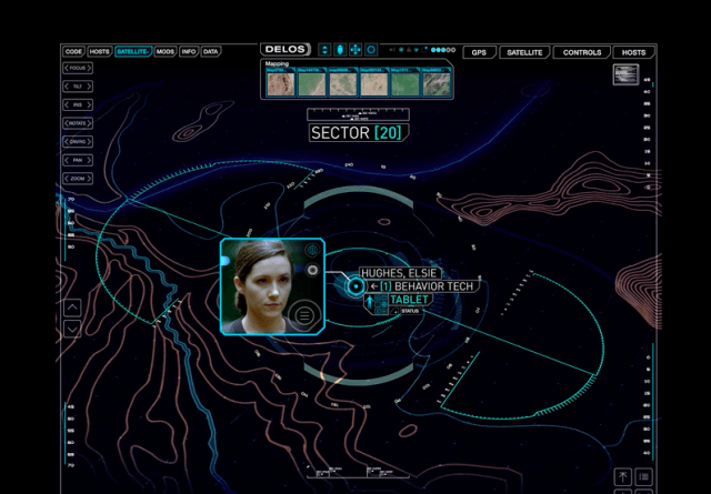 A map on DelosIncorporated.com appears to show Elsie alive.