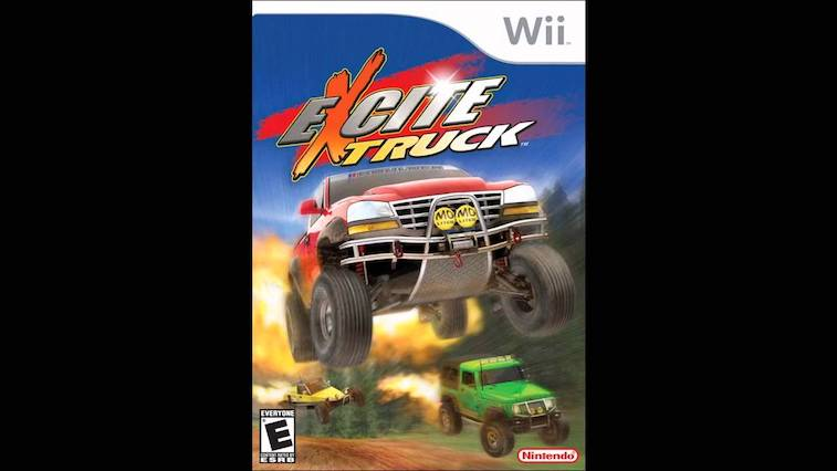 Cover art for 'Excite Truck' on Wii
