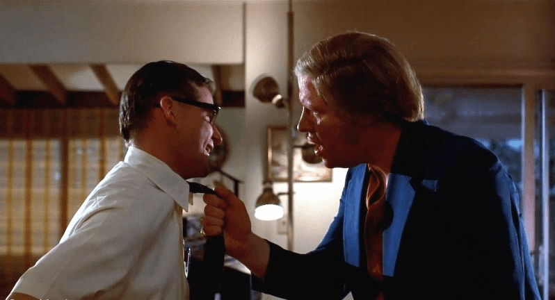 George McFly from Back To The Future experiences bullying at the hands of Biff