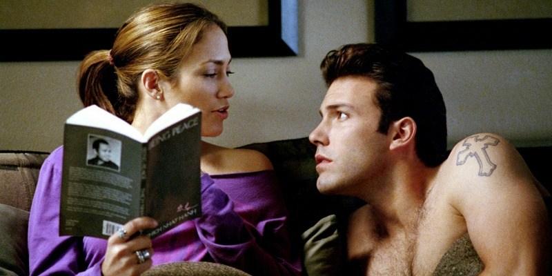Ben Affleck and Jennifer Lopez in Gigli