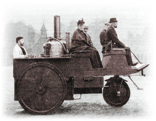 The Grenvile Steam Carriage from early in car history.