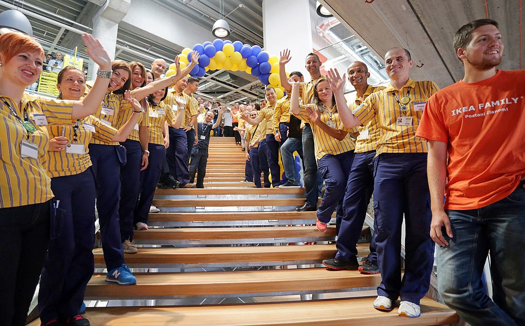 ikea employees