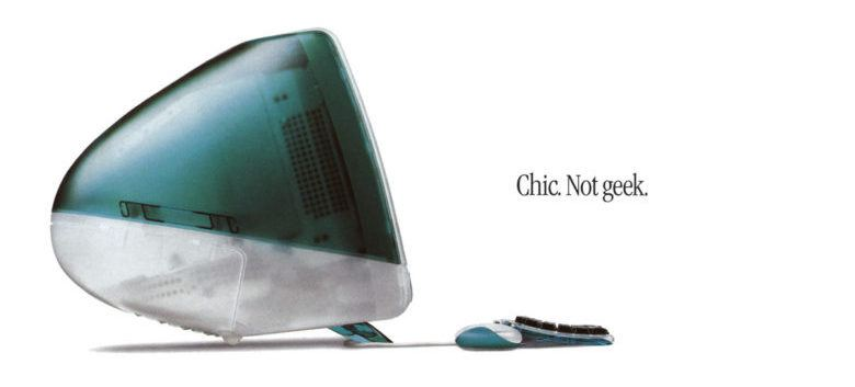 Ad for the 1998 iMac