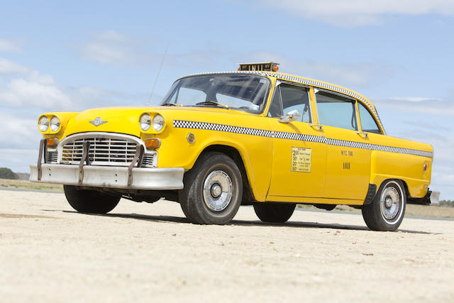 1965 Checker Marathon taxi