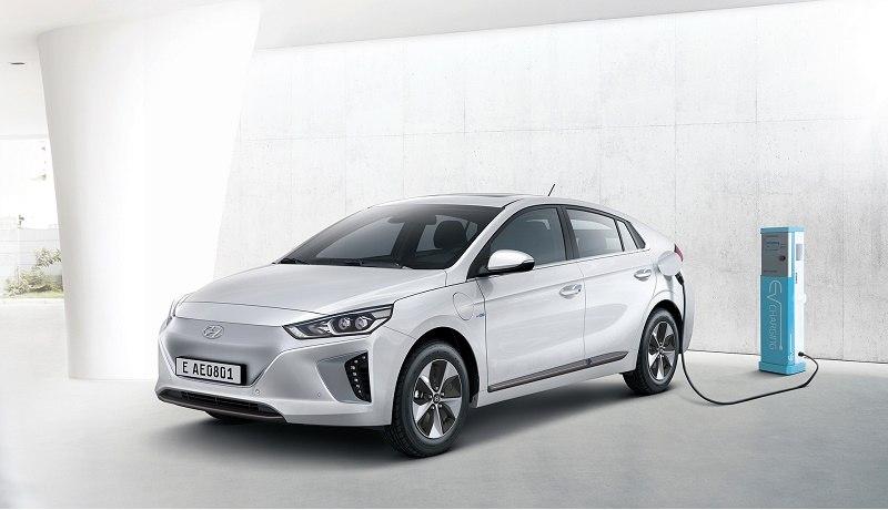 Ioniq Electric Vehicle charging