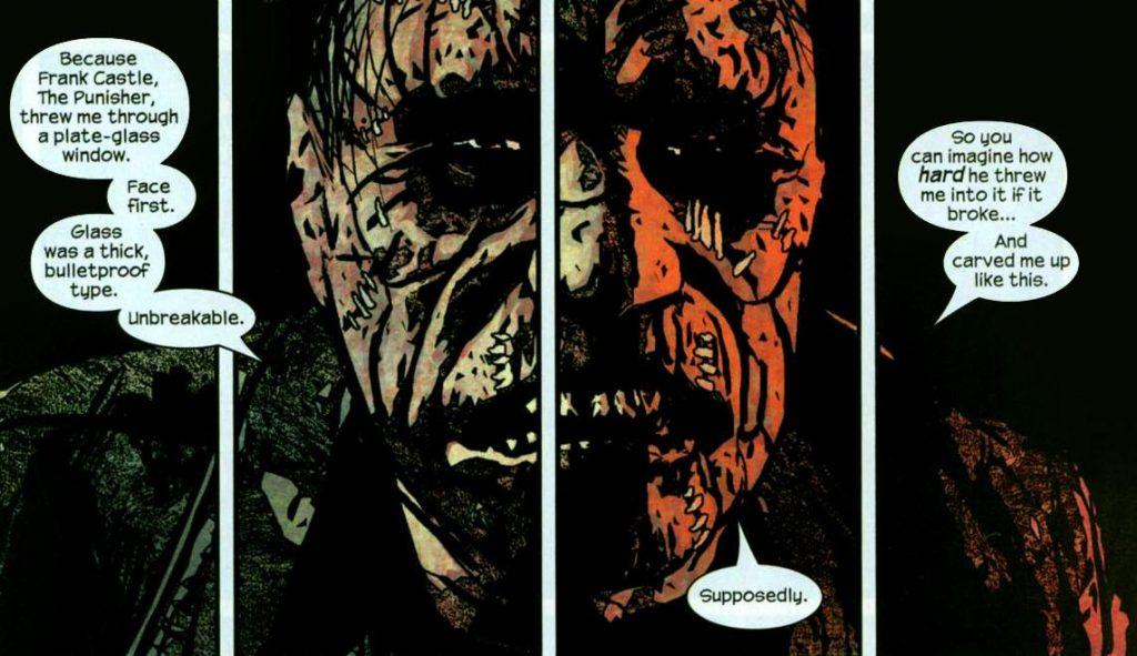 Jigsaw - Punisher comics