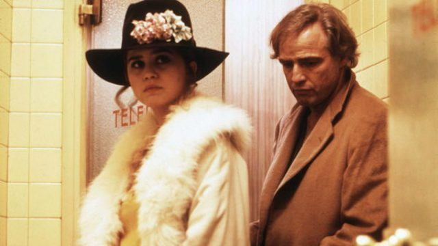 Maria Schneider and Marlon Brando in 'Last Tango in Paris'