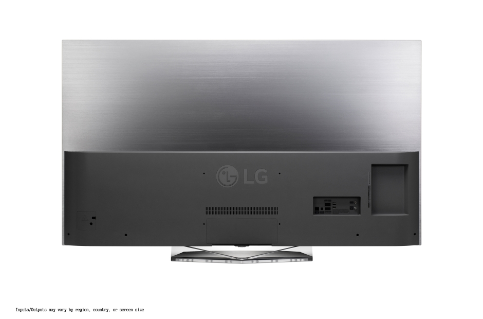The back of an LG television.