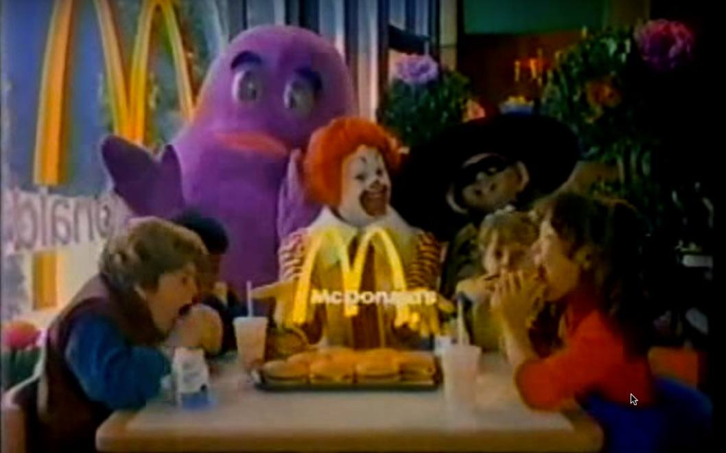 1980s mcdonalds ad