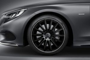 Mercedes' S-Class Coupe Night Edition Brings Black Tie Style to Detroit
