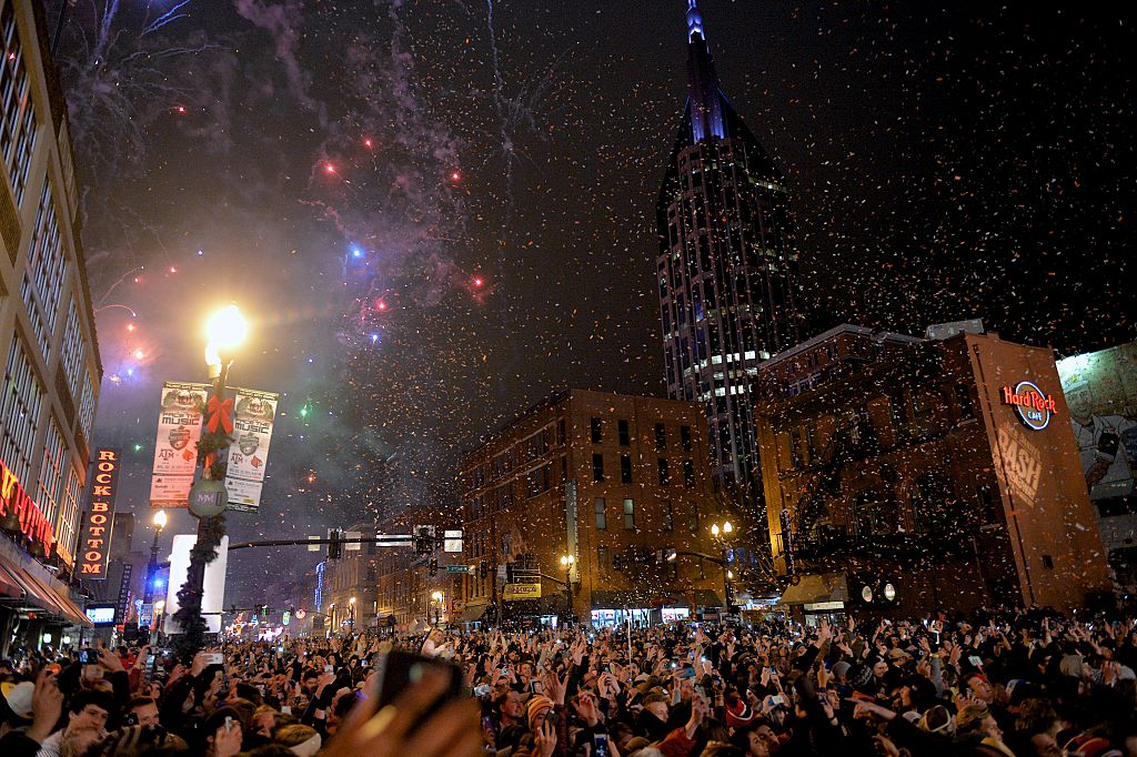 nashville new year's eve