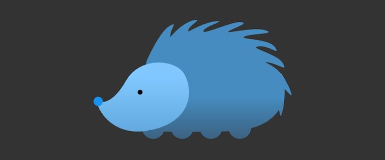 The porcupine Nuzzel icon