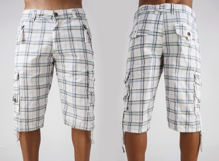 shorts isolated over white