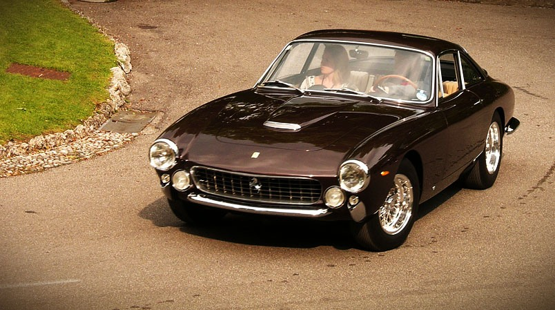 One of the more famous Steve McQueen cars, his 1964 Ferrari 250 GT Lusso Berlinetta.