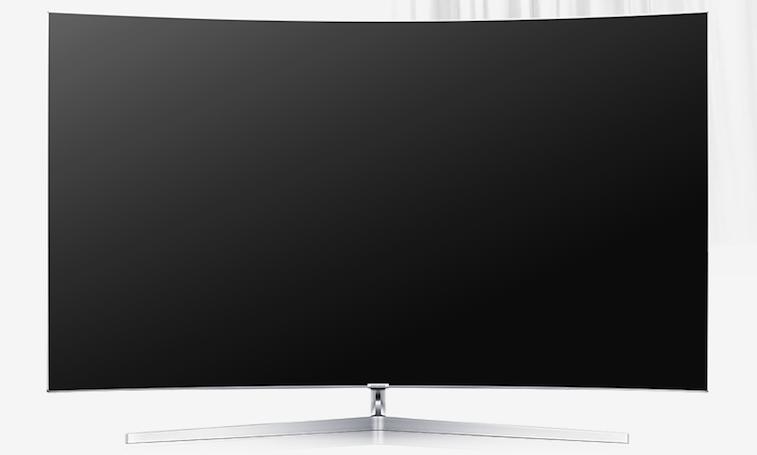 Bezel-less SUHD TV from Samsung