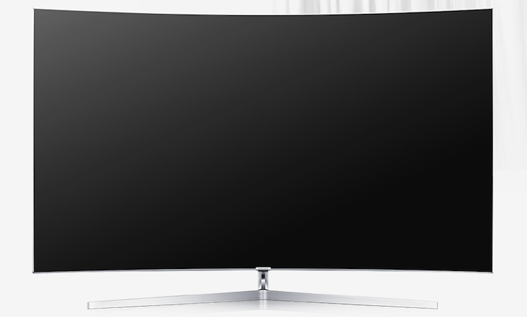 Bezel-less SUHD TV from Samsung