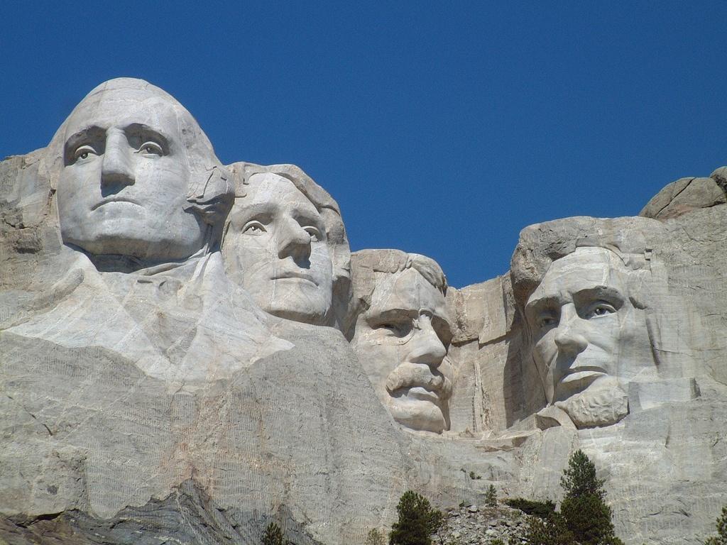 Theodore Roosevelt on Mt. Rushmore