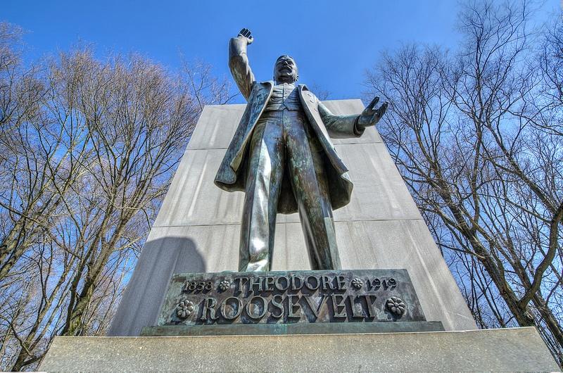 Statue of Teddy Roosevelt