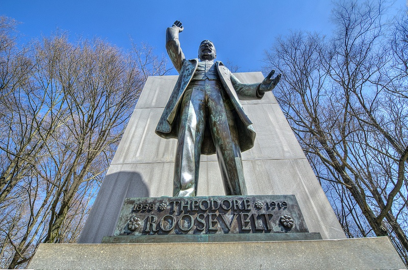 Statue of Teddy Roosevelt
