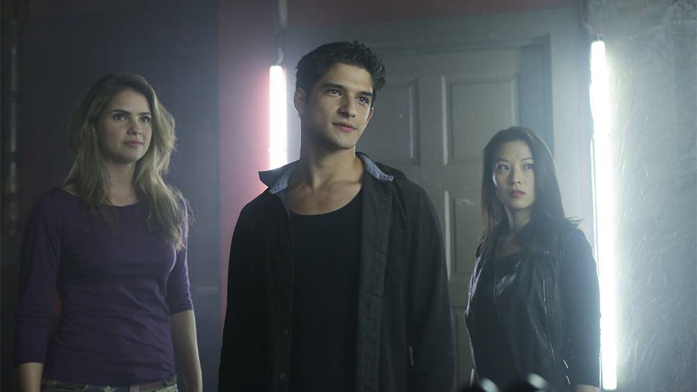 Tyler Posey stars in Season 4 of Teen Wolf on MTV