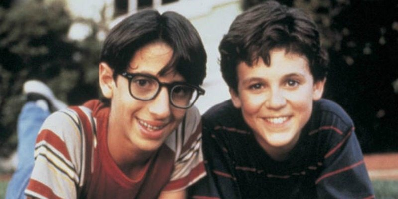 Josh Saviano and Fred Savage on The Wonder Years