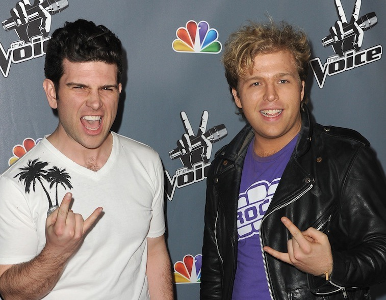 Tristan and Rory Shields on The Voice Season 4