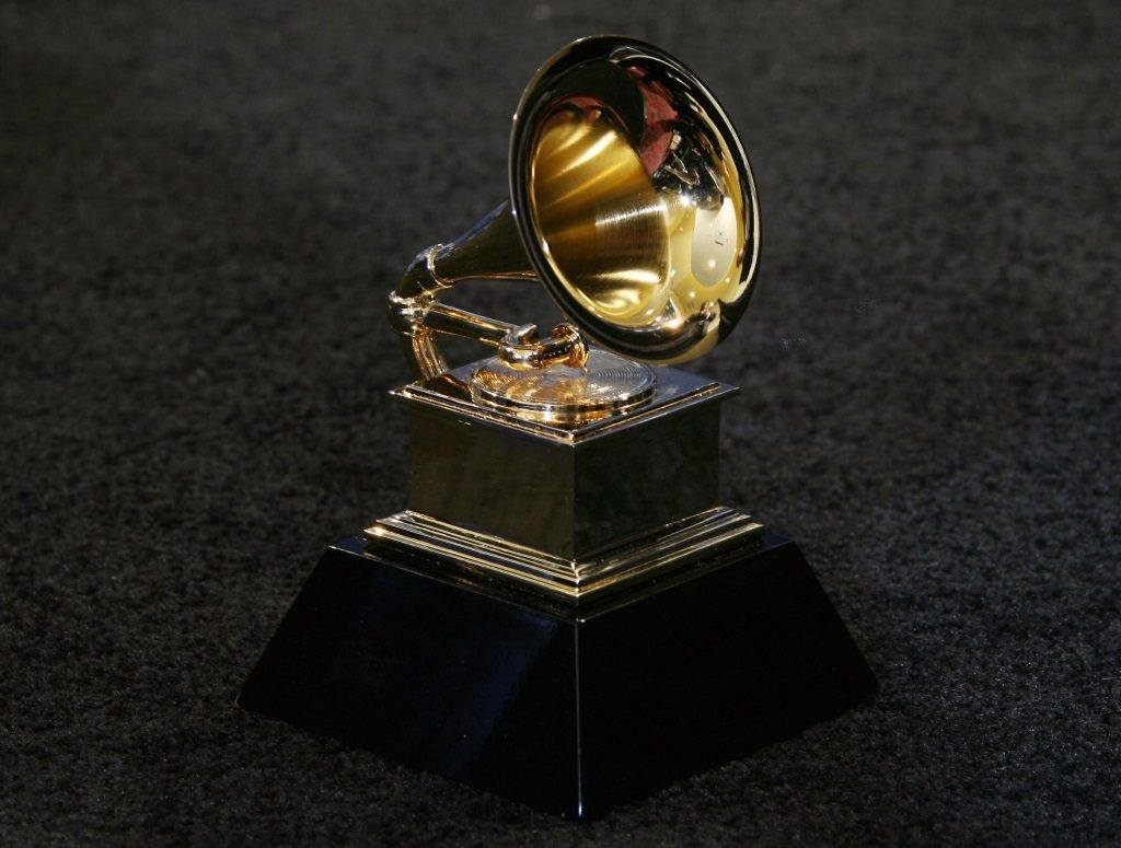 The trophy of the Grammy Awards