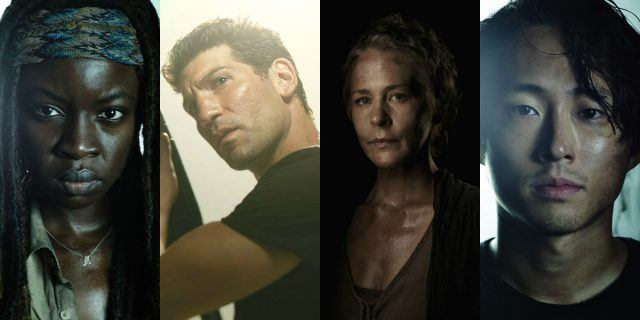 Danai Gurira, Jon Bernthal, Melissa McBride and Steven Yeun are among the best actors on 'The Walking Dead'